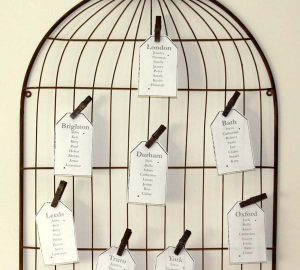 birdcage wedding table plan the wedding of my dreams