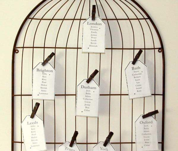 birdcage wedding table plan the wedding of my dreams