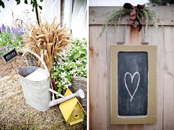 chalkboard wedding decorations