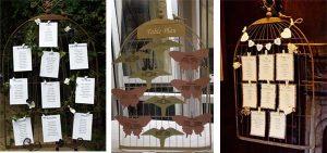 vinatge birdcage table plan the wedding of my dreams