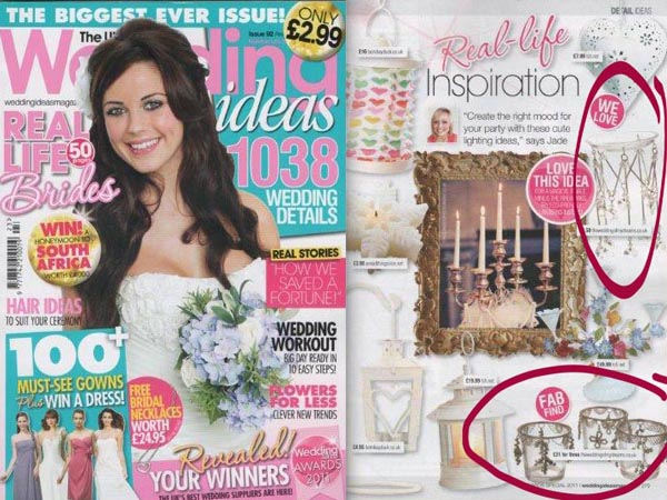 list wedding magazines