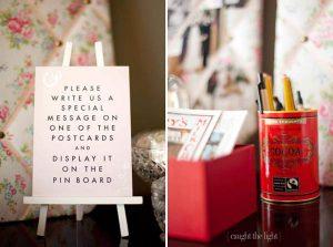 wedding notice board