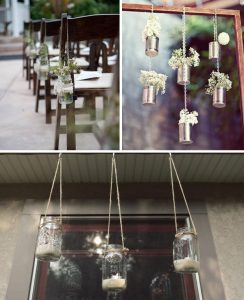 hanging wedding decoration ideas from the wedding of my dreams