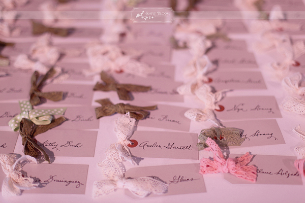 luggage tags escort cards the wedding of my dreams