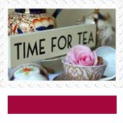 wedding sign time for tea