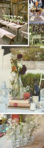vintage glass vases bottles