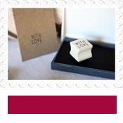 with love vintage stamp ink pad