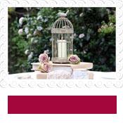 birdcage lantern wedding table centre
