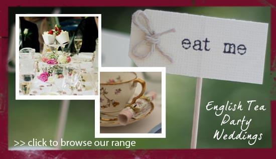english tea party wedding decorations