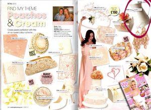 cream jug wedding table centre