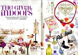 fabulous magazine heart decoration