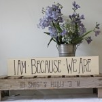Vintage Rustic Wooden Apple Crate Tray