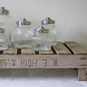 Vintage Rustic Wooden Crate Tray