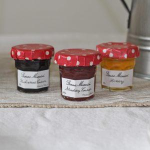 jam and honey wedding favours