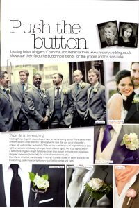 Wedding Flowers Passion for Flowers Button Holes