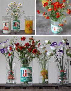cornflakes tea milk bottle jugs