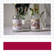 french glass bottles