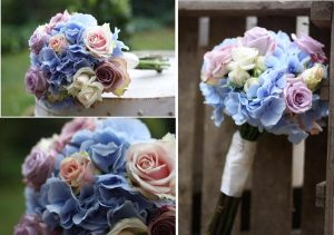 vintage bride bouquets by Passion for Flowers