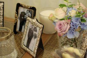 vintage family wedding photographs