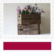 vintage wooden bushel crates