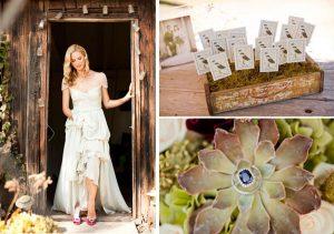 vintage wooden crates wedding escort cards