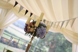 wedding candelabra by Passion for Flowers