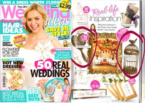wedding decorations in wedding ideas magazine