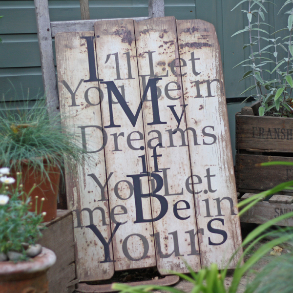i'll be in your dreams sign
