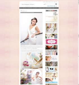 passion for flowers on wedding chicks blog