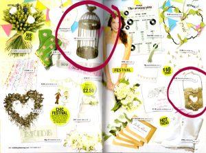 Wedding Ideas Magazine Wooden Bark Candle Holder or Vase