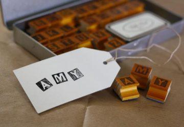 alphabet stamps