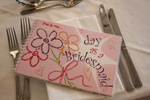 bridesmaid keepsake activity book