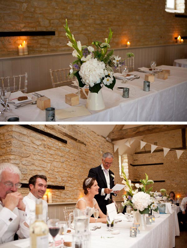 country farm house wedding table decorations
