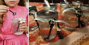 kids activities at weddings bubbles with keys