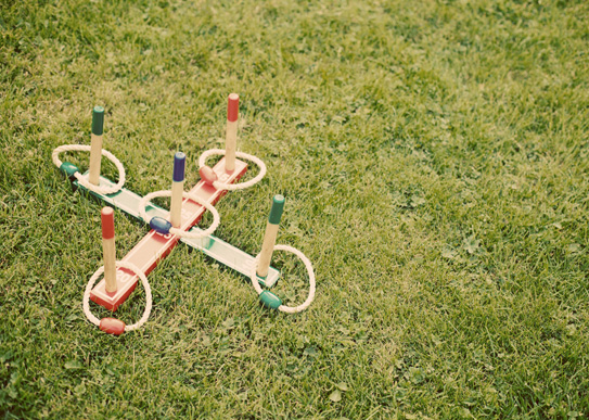 outdoor wedding games for kids