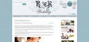 the wedding of my dreams bride features on rock my wedding