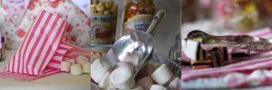 sweet bags sweet scoops tongs