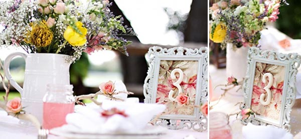 wedding decorations for tables. Unique Wedding Table Numbers Vintage Photo Frame Decorations For Tables