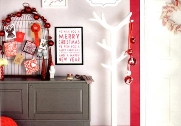 unusual christmas card displays