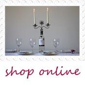 wine botle wedding centrepiece