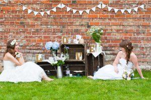 wooden crates wedding decorations