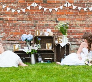wooden crates wedding decorations