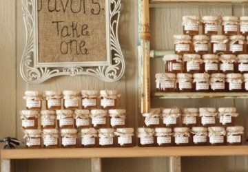 jam wedding favours