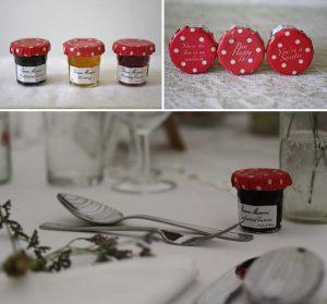 jam wedding favours