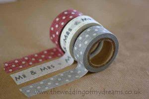 patterned sticky tape