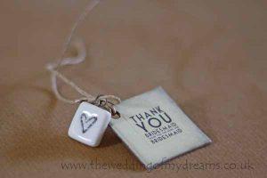 thank you bridesmaid gift tag
