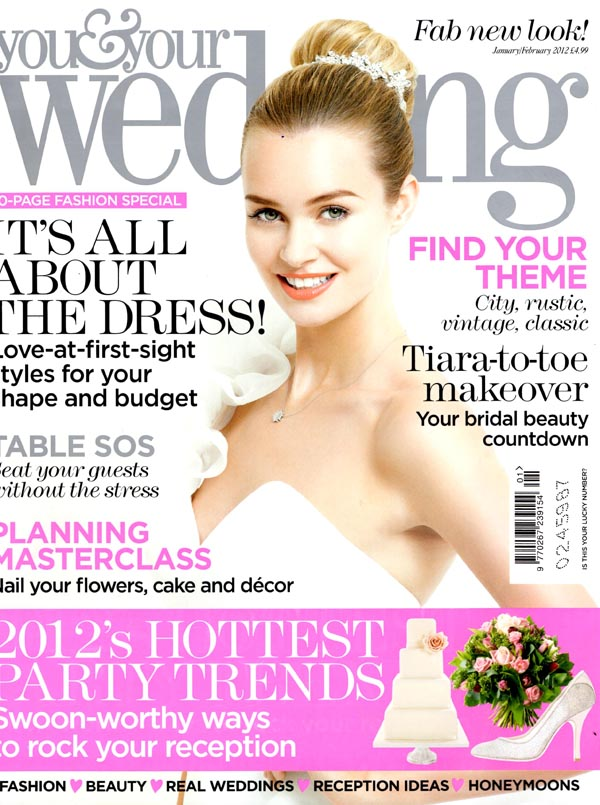 you and your wedding magazine jan feb 2012