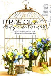 Birdcage table plan memo board