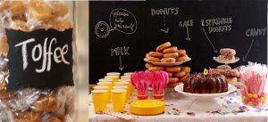 blackboard labels sweetie buffets