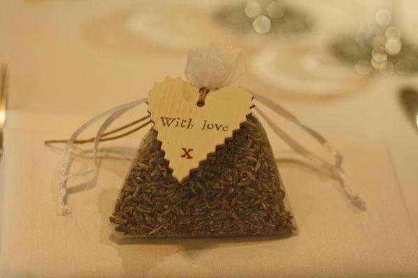 lavender bags wedding favours